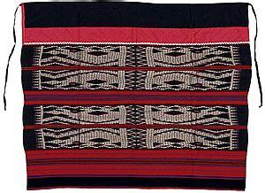 ulap doyo kain tenun khas suku dayak beuaq belajar