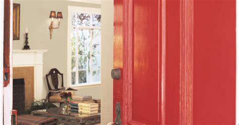 dunn edwards paints paint colors door contrast dea106 wall apache dec746 trim