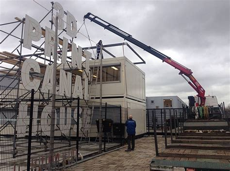 3d printer house futuristic 3d printed house takes shape next to amsterdam s famous canals