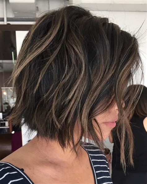 textured bob cut with a razor 30 layered bob haircuts for weightless textured styles