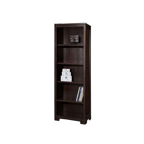 Cheap Narrow Bookcase Hekman 7 9185 Mocha Narrow Bookcase Discount Furniture At