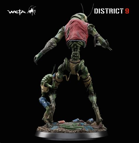 district 9 figures of the week weta s district 9 figure christopher