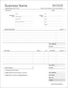 Car Repair Invoice Template by Auto Repair Invoice Template For Excel