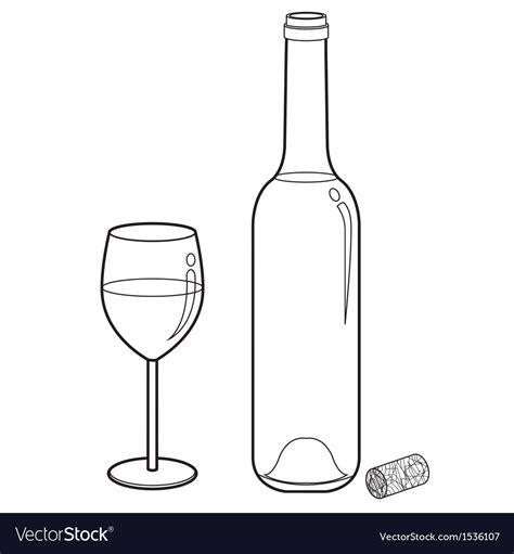 glass vector wine glass outline vector www pixshark com images