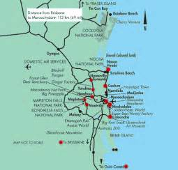 tourist map coast australia