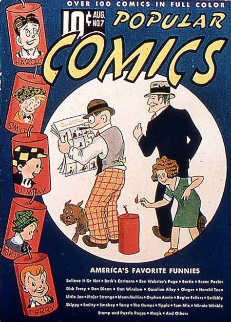 popular comics  issues dell comics full color