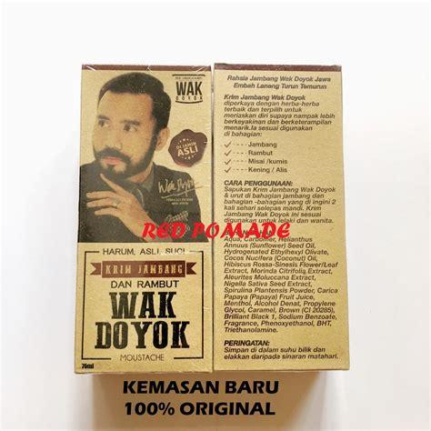 Jenggot Wak Doyok Original wak doyok wakdoyok krim penumbuh jambang jenggot