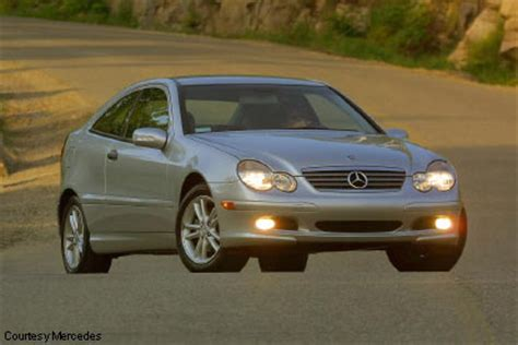 2003 mercedes c320 sports coupe