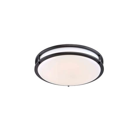 Low Profile Ceiling Light by Envirolite 10 In Rubbed Bronze White Low Profile Led