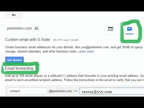 google domains email forwarding  email   desired