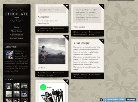 tumblr themes free classy 20 best tumblr themes handpicked designbeep
