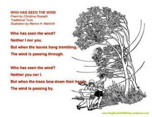 is the wind poems books who has seen the wind a singable poem sing books with