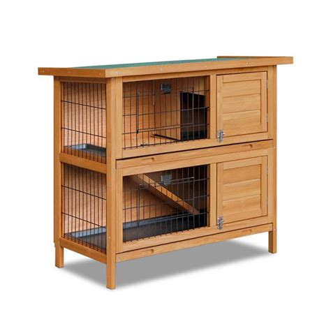 2 Storey Rabbit Hutch 28 Double Storey Rabbit Hutch Cage With Foldable R Buy Rabbit Hutches