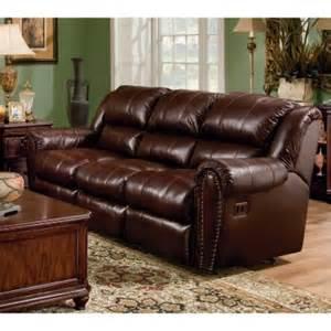 sidney leather reclining sofa sofas