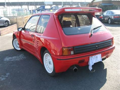 peugeot japan peugeot 205 gti sale japan import 1 9 japan cars