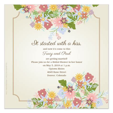 garden invitation template garden invitations cards on pingg