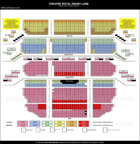 theatre royal seating chart drury theatre seating chart brokeasshome