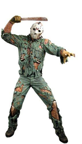 Neca Friday The 13th Jason 18 Inch neca friday the 13th 18 inch deluxe motion activated with sound figure jason voorhees