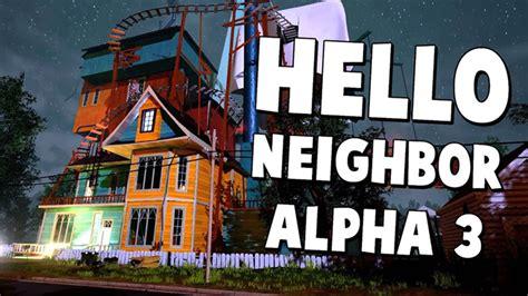 home design game neighbors hello neighbor alpha 2 ep 1 a hello neighbor alpha 3 john doe event roblox