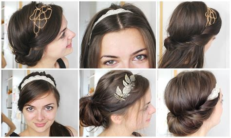 6 different ways to wear a headband faith allen hair design six ways to wear headbands loepsie