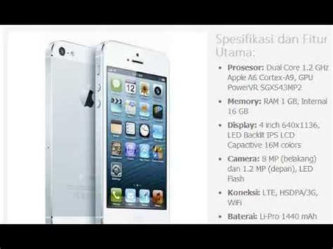 Harga Make Selengkapnya harga hp apple iphone 5 16gb