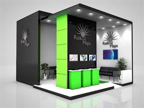 exhibition stand layout design product visual 171 graphic design photorealistic cgi