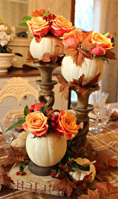 thanksgiving centerpieces 55 beautiful thanksgiving table decor ideas digsdigs