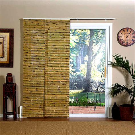 Bamboo Shades For Sliding Glass Doors Doors And Windows Blinds Miami Sliding Panels