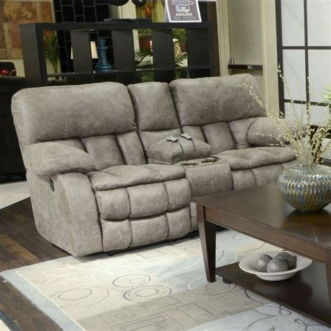 massage loveseat catnapper madden fabric reclining massage loveseat in