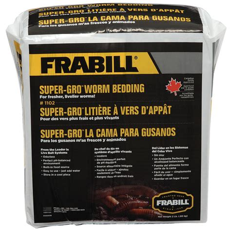 worm bedding frabill 174 super gro worm bedding 225468 minnow buckets at sportsman s guide