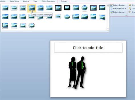 Cómo agregar efecto de sombra de contorno en PowerPoint