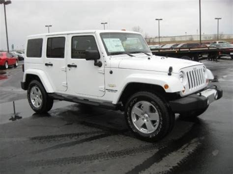 2011 Jeep Wrangler Horsepower 2011 Jeep Wrangler Unlimited 4x4 Data Info And