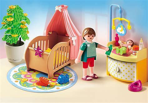 playmobil chambre enfant playmobil 5334 chambre de b 233 b 233 avec berceau achat