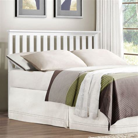 twin headboards homesullivan chilton white twin headboard 40949b002p the