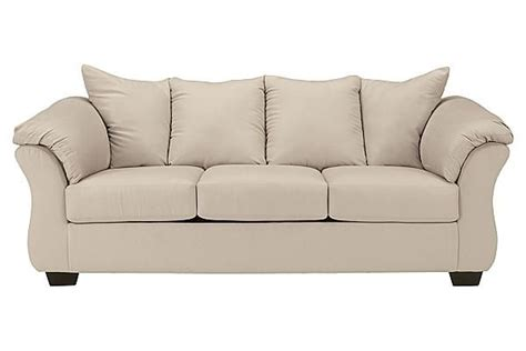 kinning linen sectional the darcy stone full sofa sleeper from ashley furniture