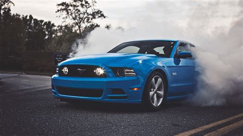 blue ford shelby mustang uhd 4k wallpaper pixelz