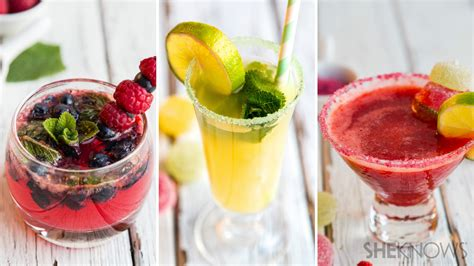 interesting cocktails 3 fruity mocktails for summer sipping
