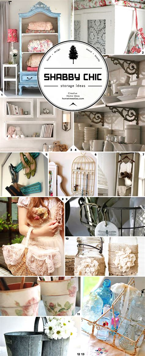 organizing in style shabby chic storage ideas home tree atlas