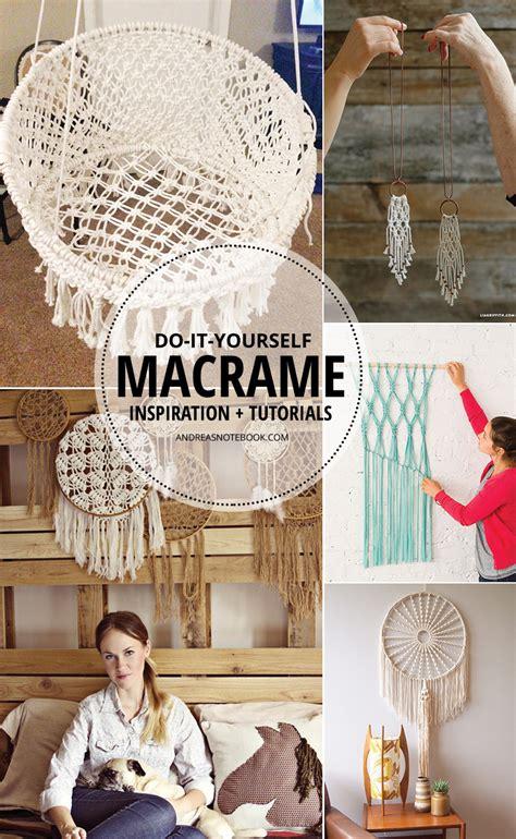 Macrame Lessons - inspiring macrame tutorials