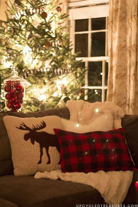 christmas moose home decor best 25 plaid christmas ideas on pinterest christmas
