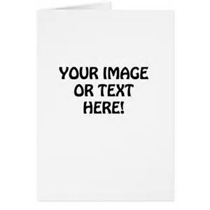 create your own card zazzle