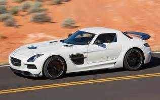 2014 mercedes sls amg black series side motion in