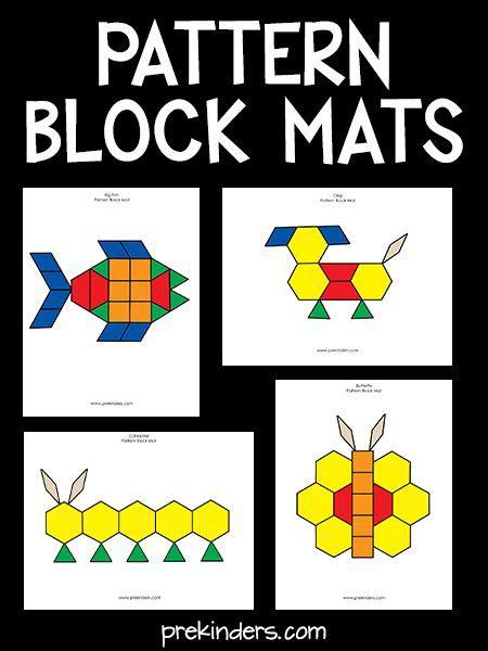 pattern core activities 46 best pattern block activities images on pinterest
