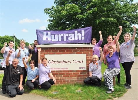 glastonbury court care home in bury st edmunds