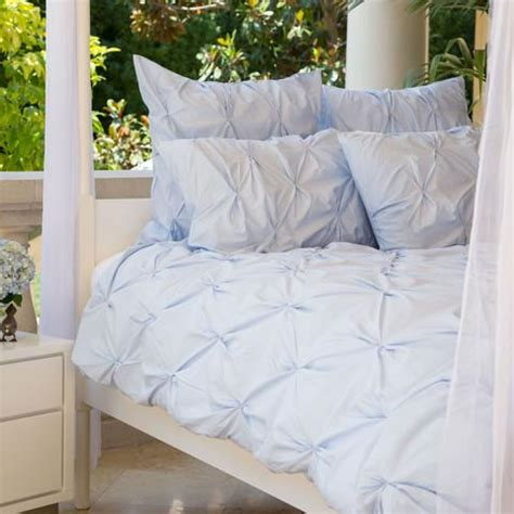 blue pintuck comforter the valencia light blue pintuck duvet cover set crane