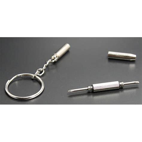 Gantungan Kunci Obeng Mini Serbaguna gantungan kunci obeng plus minus silver jakartanotebook