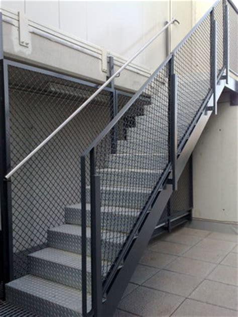 barandilla galvanizada escaleras metalicas