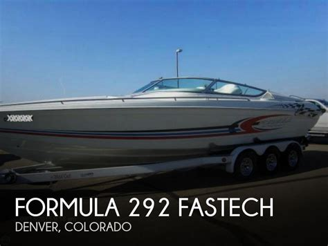 used formula boats for sale formula 292 fastech boats for sale boats