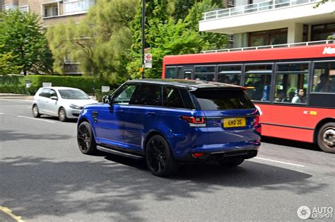 orange range rover svr land rover urban range rover sport svr 8 september 2016