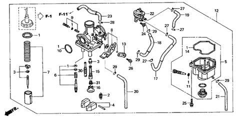 crf150f carburetor diagram 2004 crf 150 wiring diagrams wiring diagram schemes
